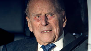 Prince Philip, pictured in December, was breathalysed at the scene