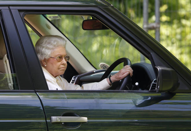 The Queen doesn't need a license to drive as licenses are issued in her name