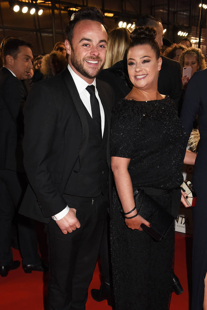 Ant and Lisa pictured at the 2017 National Television Awards
