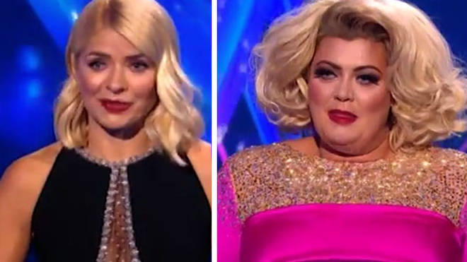 Holly Willoughby took aim at Gemma Collins on last night's DOI