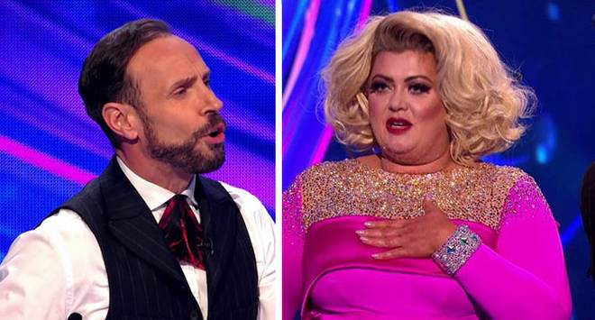Jason Gardiner and Gemma Collins locked horns on Dancing On Ice