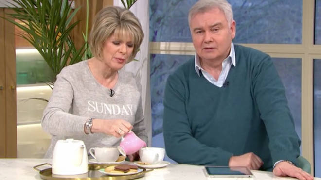 Ruth Langsford has shocked Britain with her tea making skills