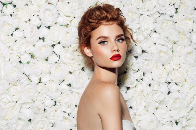 Red hair bridesmaid