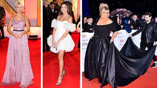 Choose your favourite red carpet look from the NTAs