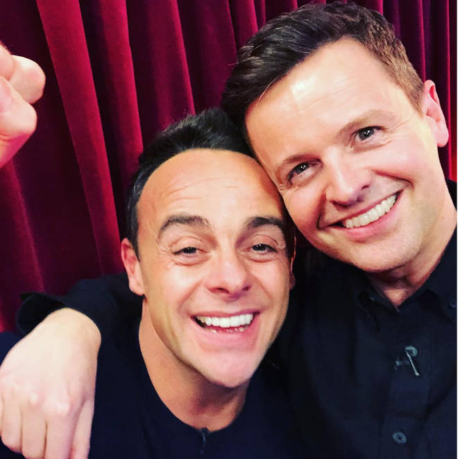 Ant and Dec win NTA for Best Presenter due to Ant's absence