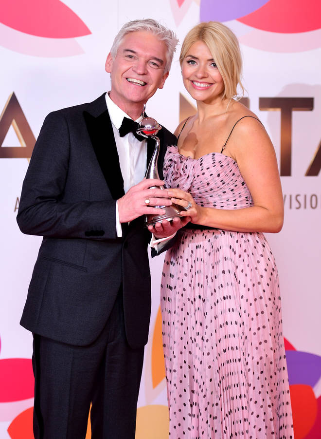 Holly Willoughby and Phillip Schofield win NTAs