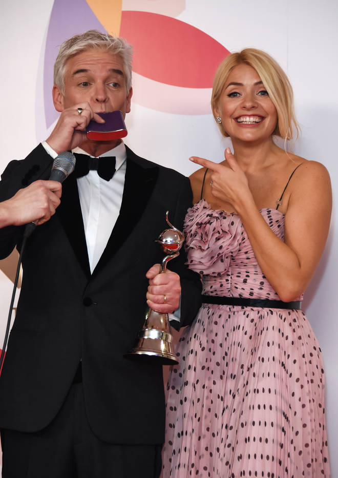 Holly Willoughby and Philip Schofield at the NTAs