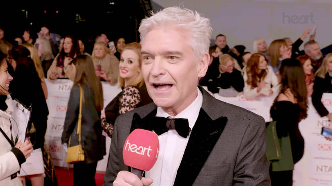 Phillip Schofield spoke out about the drama at last night's NTAs