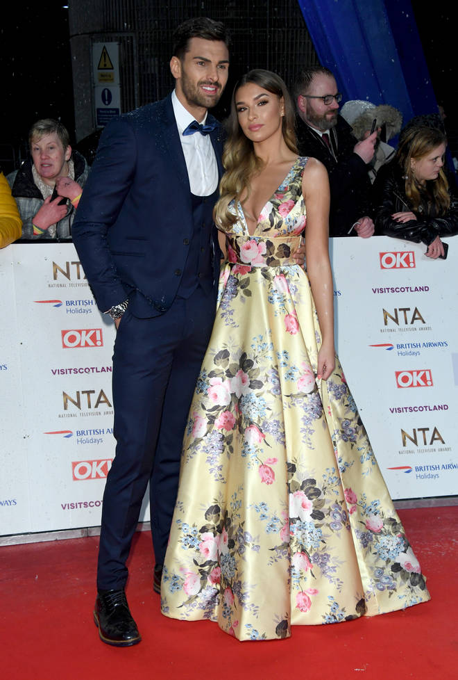 Zara and Adam at the NTAs on Tuesday