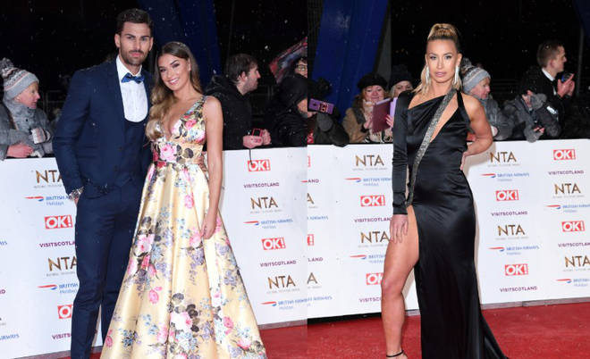 Adam and Ferne came to blows at the NTAs on Tuesday