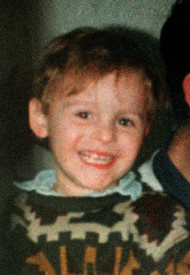 Two-year-old James was murdered by Venables and Thompson in 1993