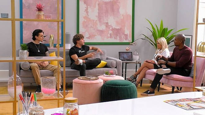 Eyal and the rest of the Celebs Go Dating cast found out about the controversy while filming