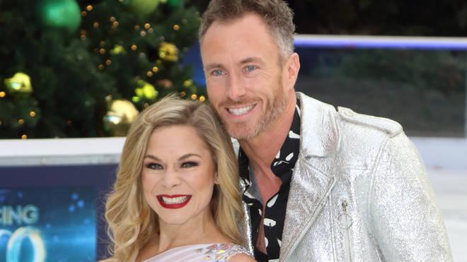 Alexandra Schauman and James Jordan at the Dancing On Ice...