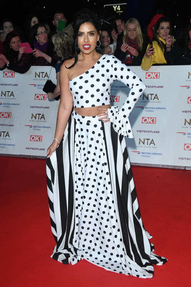 Cara De La Hoyde, pictured at last week's NTAs, is thrilled with the results