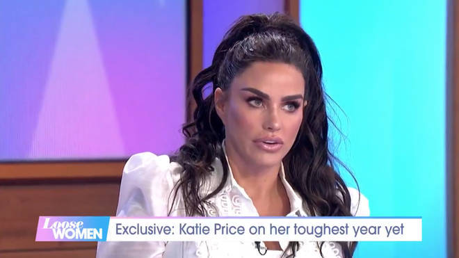 Katie Price opened up about her tumultuous year on Loose Women last week