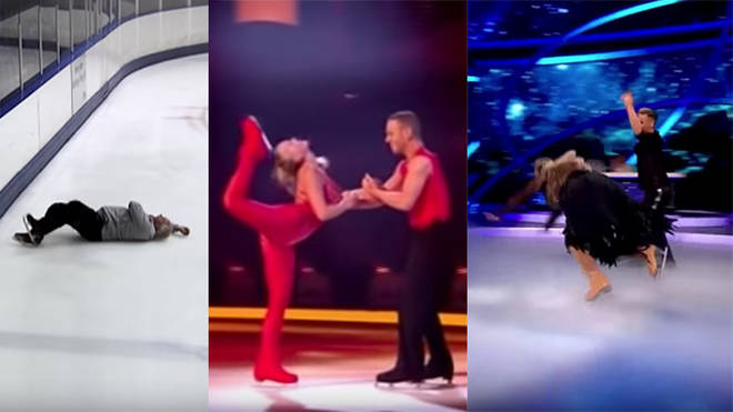 Dancing On Ice has had some spectacular falls over the years