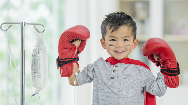 Andrew hopes his donation will help other children fighting cancer (stock image)