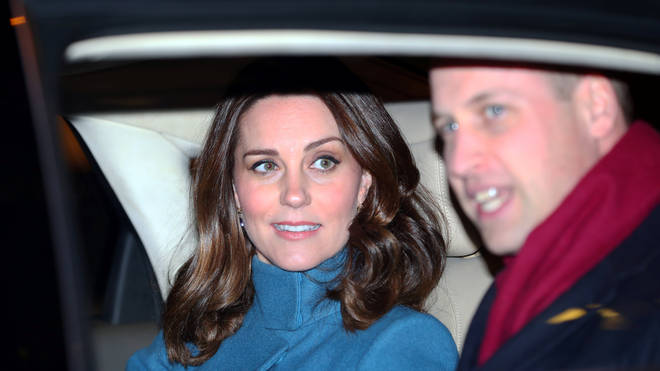 Kate Middleton pictured seemingly without a seatbelt on an outing with Prince William