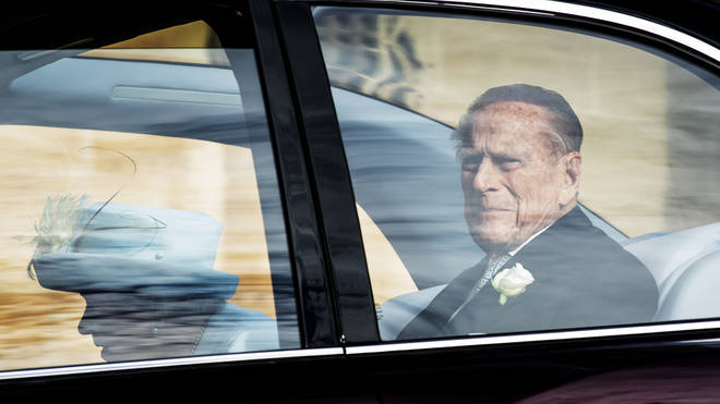 Prince Philip, pictured at Princess Eugenie's wedding