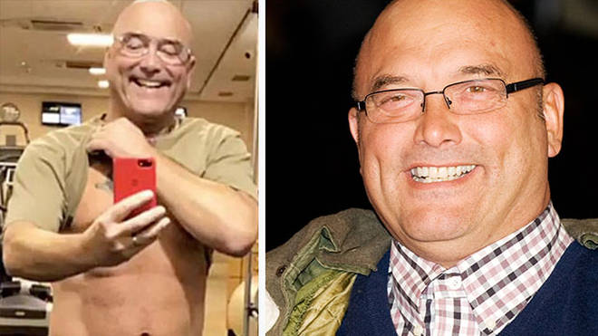 Gregg Wallace's bare flesh has delighted fans