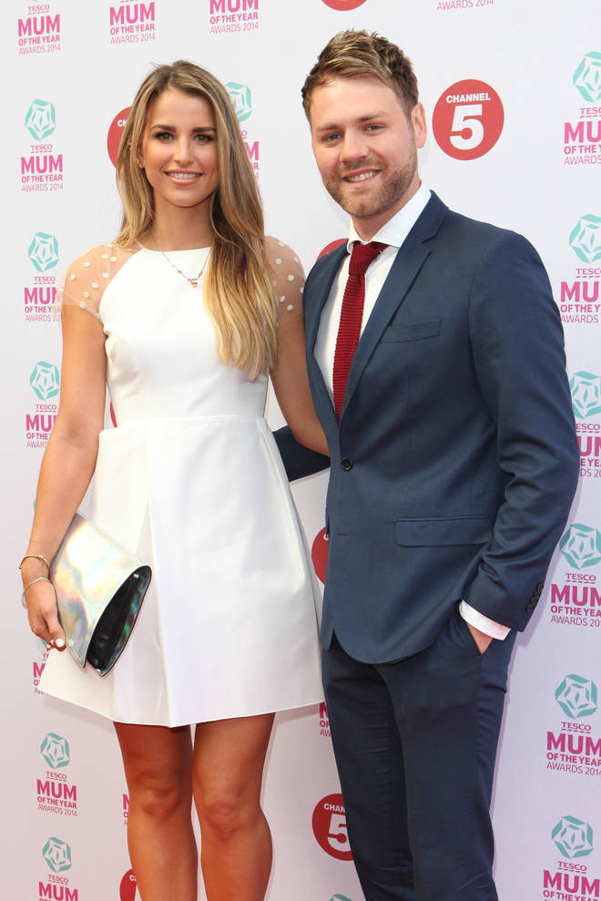 Vogue Williams and Brian McFadden pictured in London in 2014