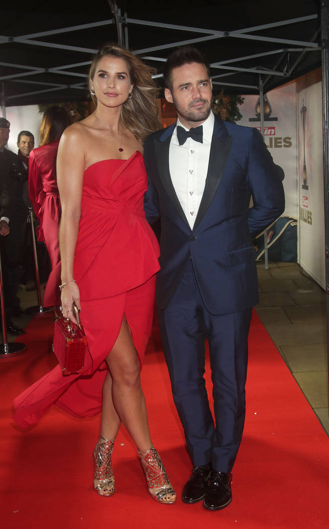 Vogue Williams and her now husband, Spencer Matthews