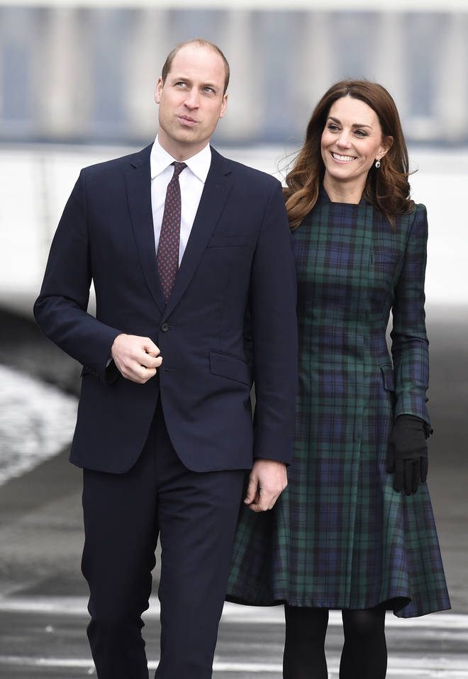 Prince William and Kate Middleton visit Scotland