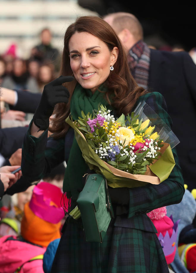 Kate Middleton visits Scotland