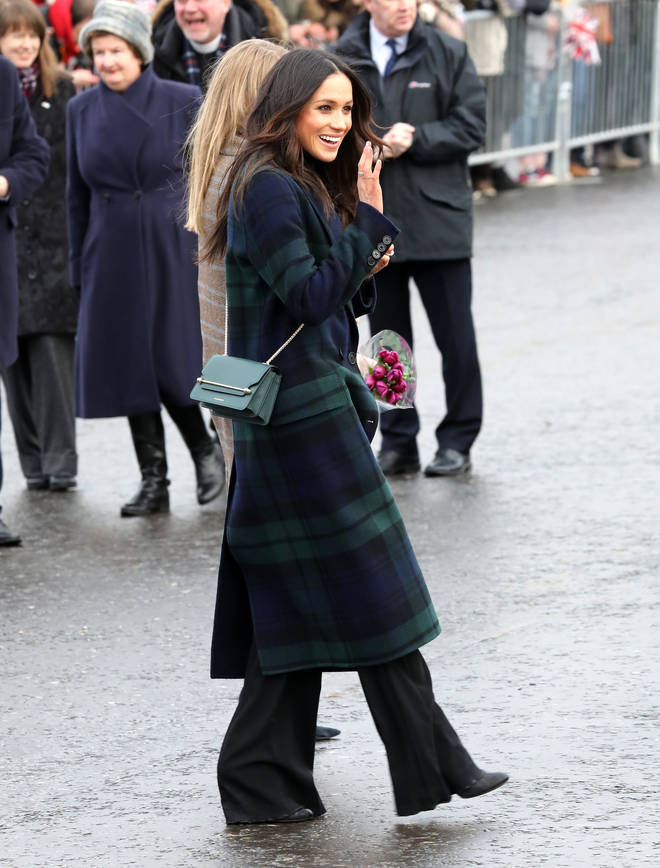Meghan Markle visits Scotland