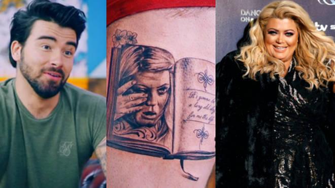 Gemma Collins fan gets tattoo