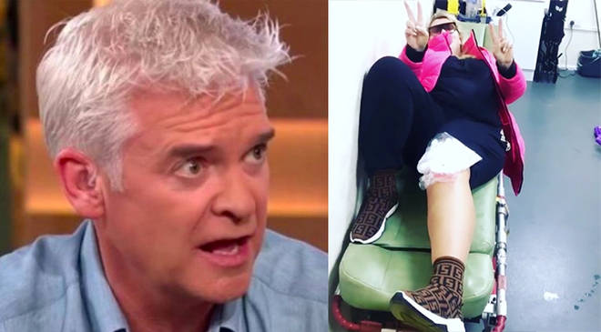 Phillip Schofield said he doesn't believe Gemma passed out on Dancing On Ice