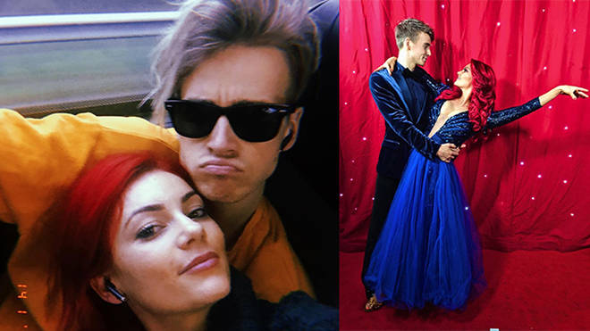 Joe Sugg and Dianne Buswell have been full of PDA behind the scenes at Strictly