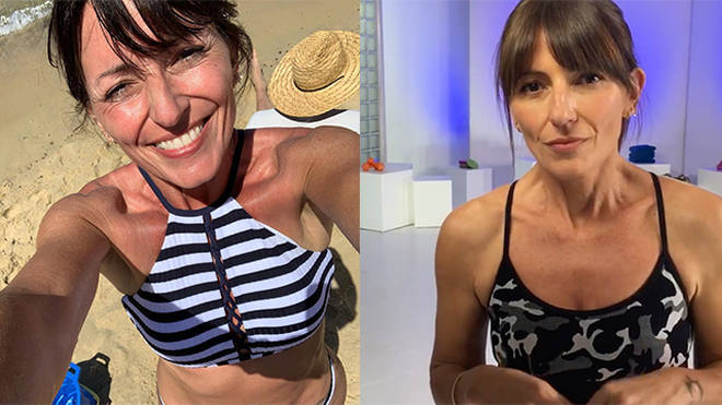 Davina McCall says she finds it hard to show her struggles