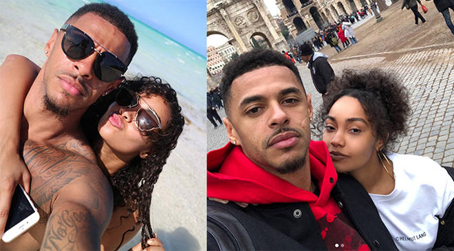 Leigh Anne Pinnock and her boyfriend Andre Gray have been together since 2016