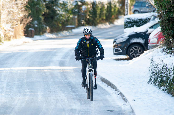 The temperature in Scotland plunged to its lowest point in nine years