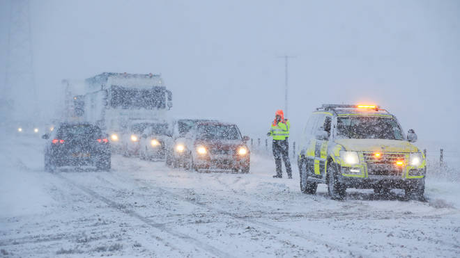 The Met Office has issued an Amber warning for more snow