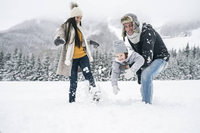 Snow can be fun for all the family, not just kids