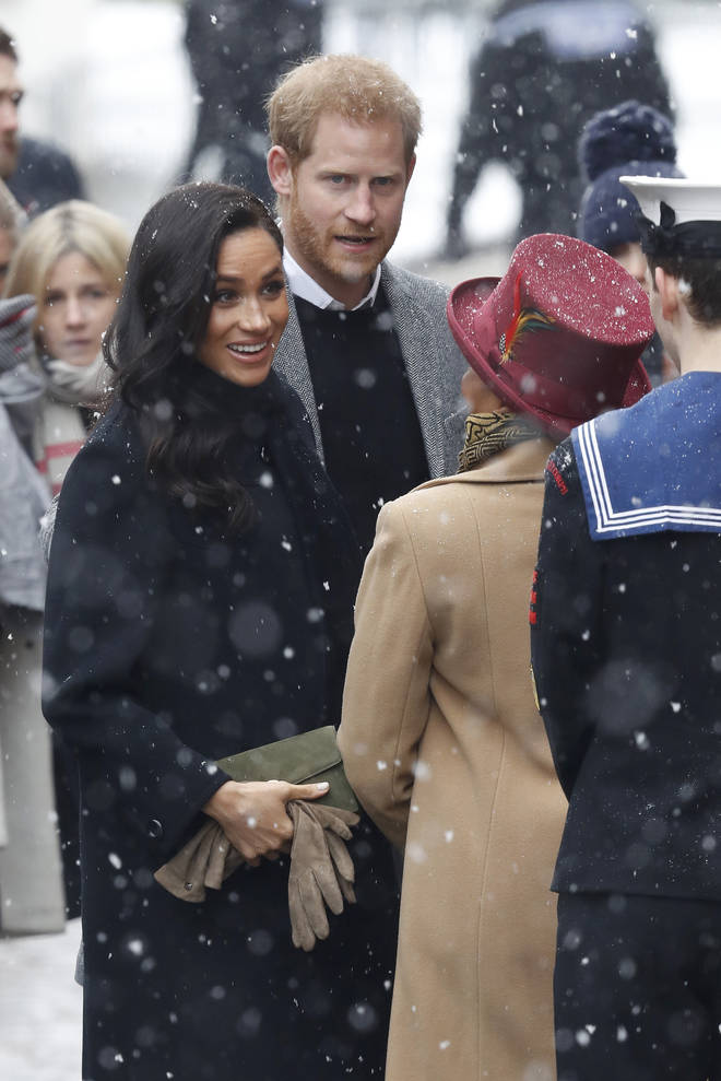 Meghan Markle and Prince Harry continued with their visit to Bristol