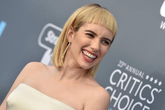 Emma Roberts cut her fringe short last year