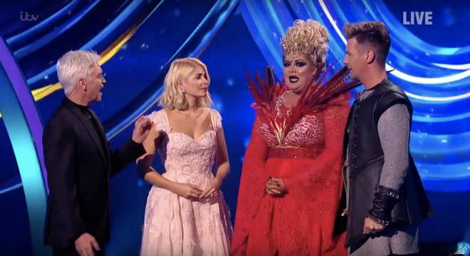 Gemma wept after her performance