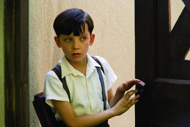 Asa Butterfield played the role of Bruno in the Holocaust drama