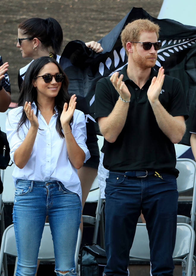 Meghan Markle and Prince Harry attended the Invictus Games together