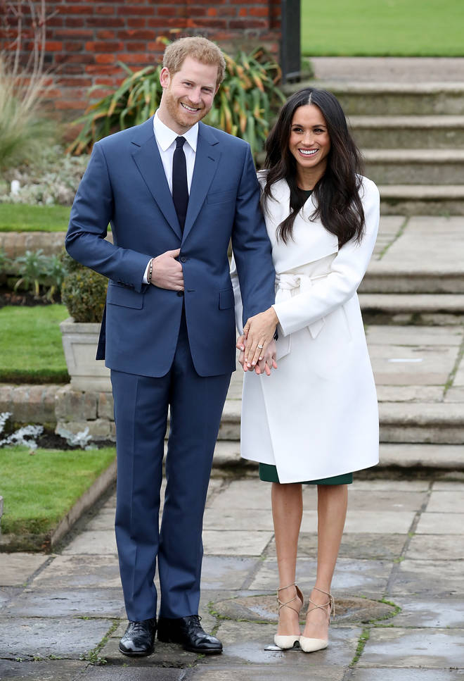 Meghan Markle and Prince Harry announced their engagement in October 2017