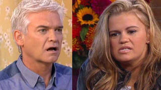 Phillip has had some infamous moments during his time on This Morning including THAT Kerry Katona interview