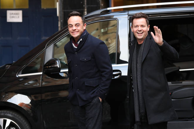 Ant and Dec recently won a National Television Awards for Best Presenter