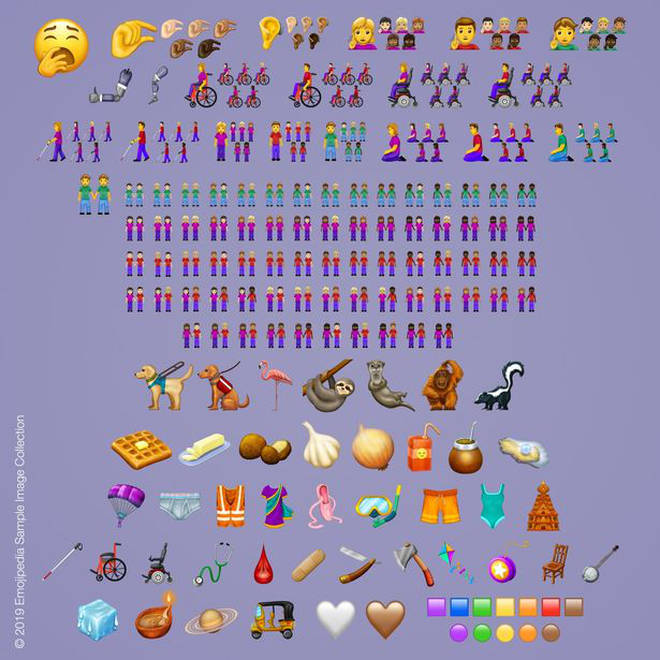 These are the new emojis being released in 2019