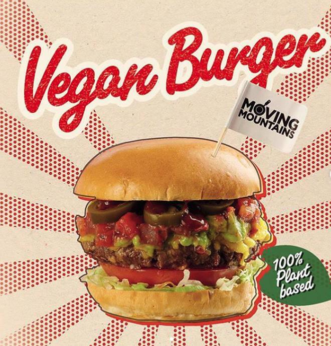 Ed's diner vegan burger
