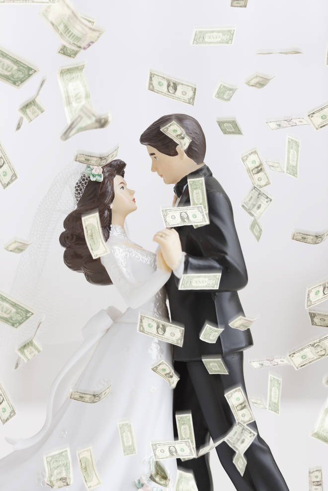 Engaged couple ask friends and family to pay for their wedding