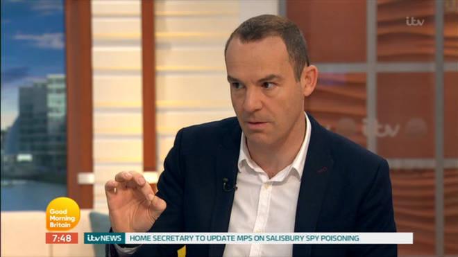 Martin is a regular on Good Morning Britain