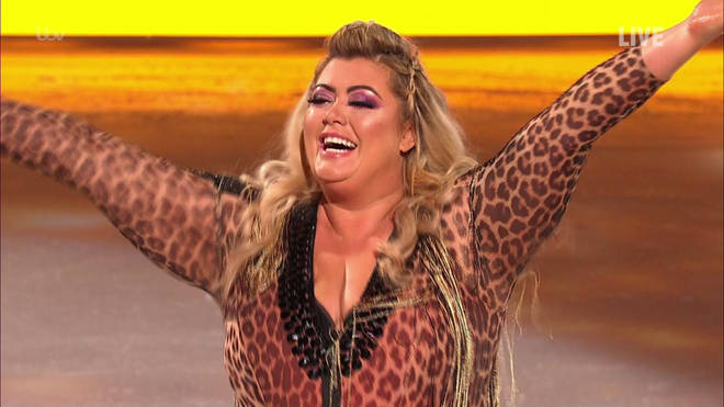 Gemma Collins was kicked off Dancing On Ice